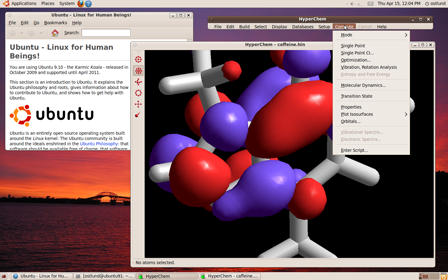 HyperChem for Linux